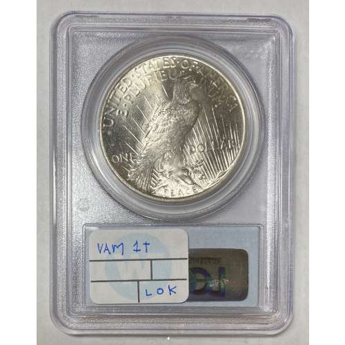 1925   VAM 1T (5) Missing Ray  PCGS MS-64