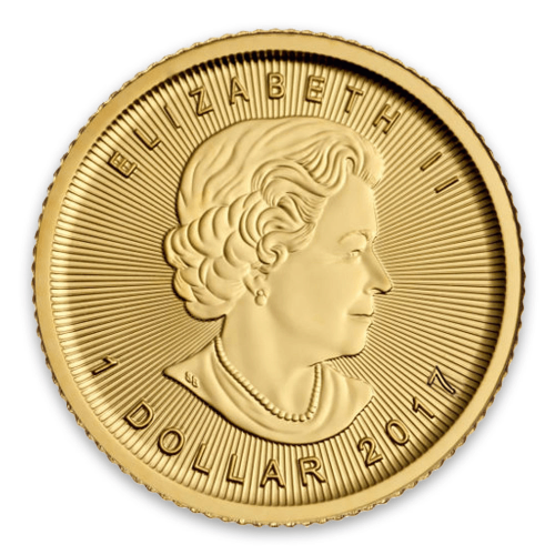 2018 1/20oz Canadian Gold Maple Leaf