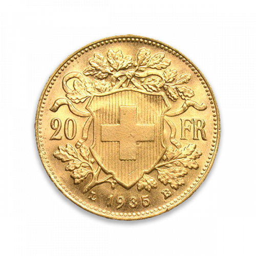 Swiss 20 Franc - Any Monarch