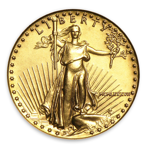 1987 1/4oz American Gold Eagle