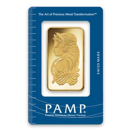 100g PAMP Gold Bar - Fortuna