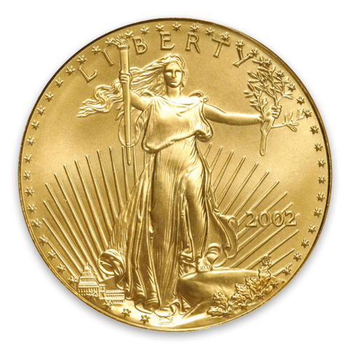 2002 1oz American Gold Eagle