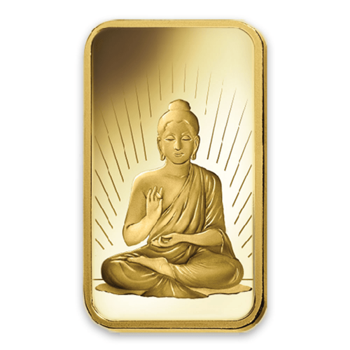 5g PAMP Gold Bar - Buddha