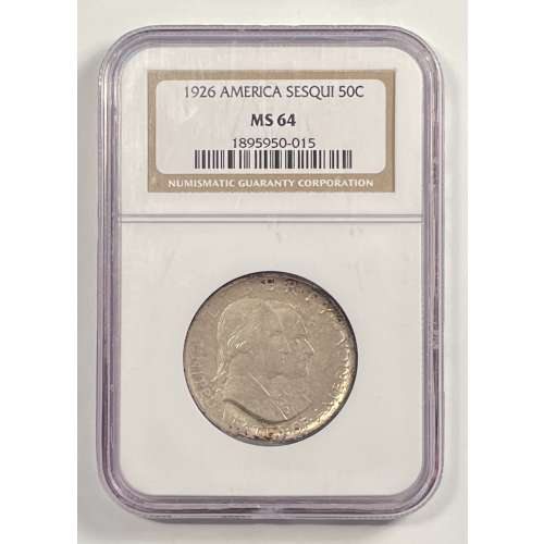 1926 AMERICAN SESQUICENTENNIAL  NGC MS-64
