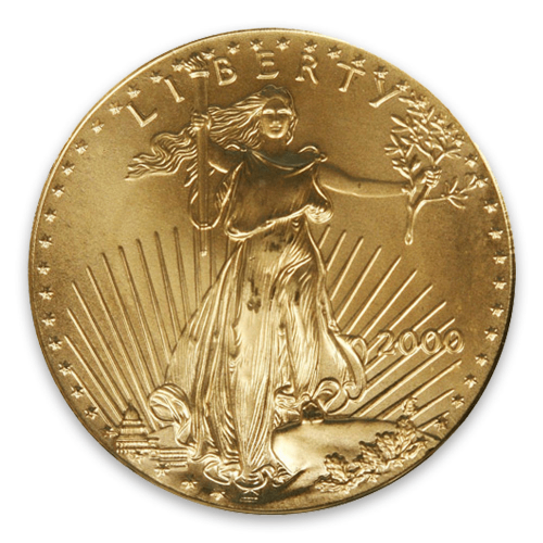 2000 1/10oz American Gold Eagle