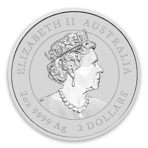 2020 2oz Perth Mint Lunar Series: Year of the Mouse Silver Coin