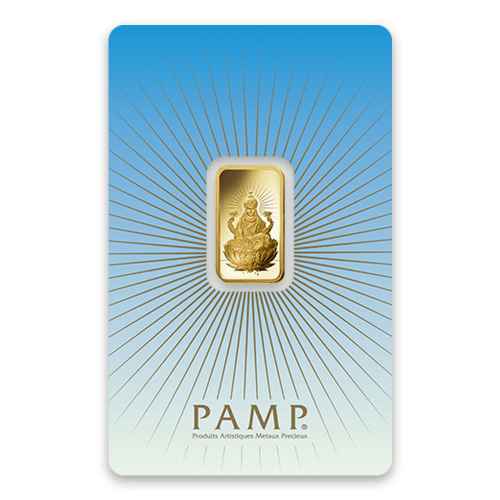 5g PAMP Gold Bar - Lakshmi