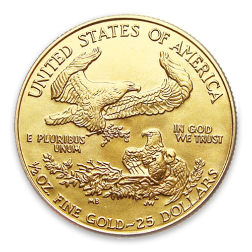 1986 1/2oz American Gold Eagle