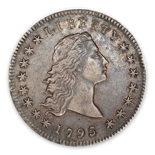 Flowing Hair Dollar (1794 - 1795) - Circ