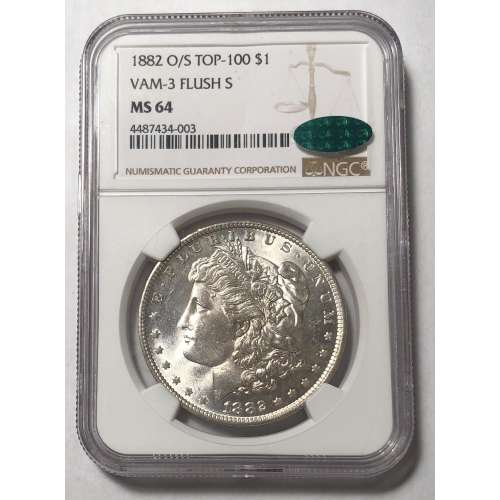 1882-O VAM-3 FLUSH S O/S NGC MS-64