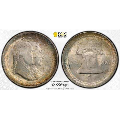 1926 Sesquicentennial  PCGS MS-65