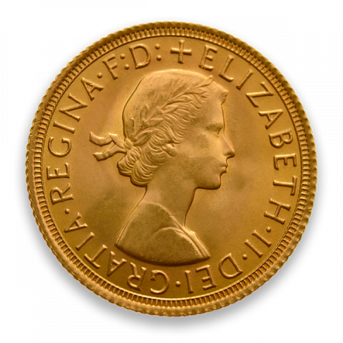 1/2 British Sovereign - Any Monarch