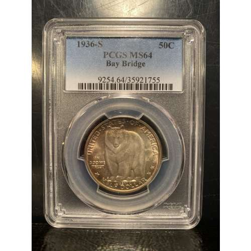1936-S Bay Bridge    PCGS MS-64