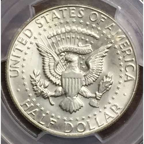 1967  Doubled Die Reverse   PCGS MS-64