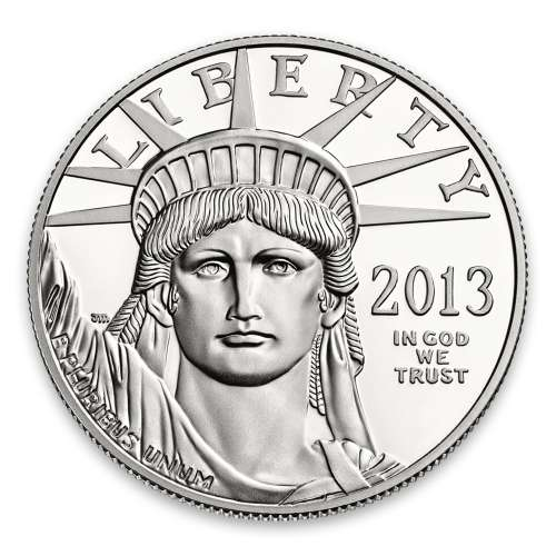 2013 1oz American Platinum Eagle Coin Proof - With original gov't packaging
