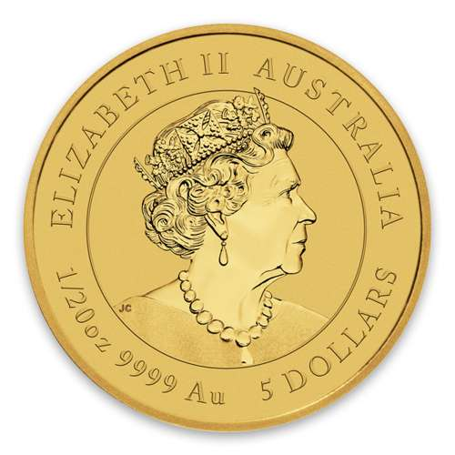2020 1/20 oz Australian Gold Lunar Series: Year of the Mouse