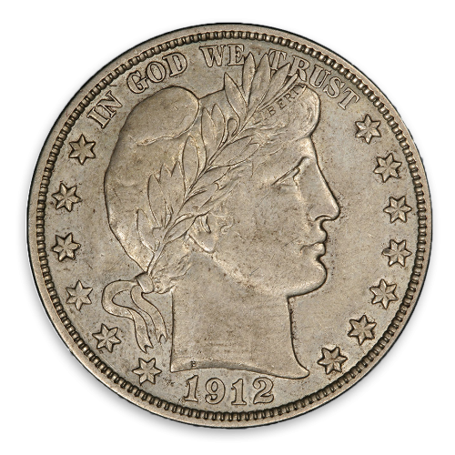 Barber Half Dollar (1892 - 1915) - XF