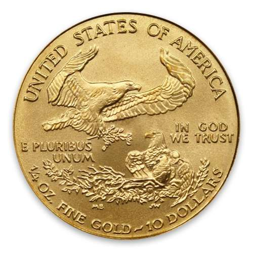 2004 1/4oz American Gold Eagle