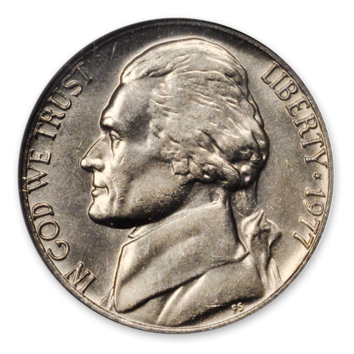 Jefferson Nickel (1938 - Date) - Circ