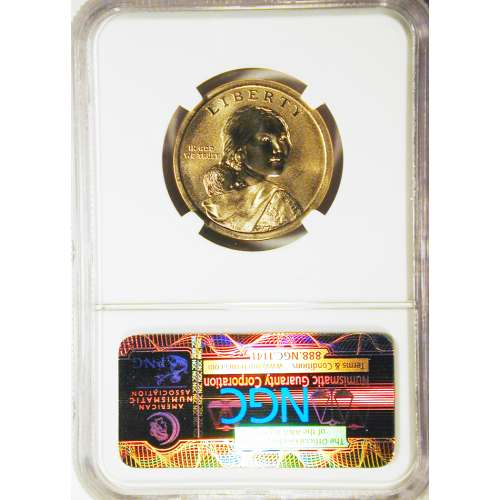 2014-D NATIVE HOSPITALITY EARLY RELEASES COIN AND CURRENCY SET ENHANCED FINISH NGC SP-69