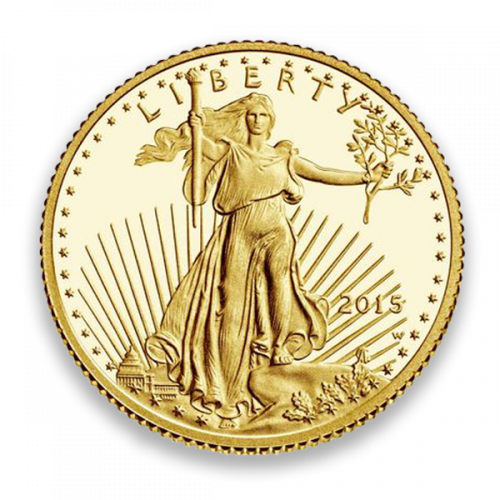 Any Year - 1/10 oz Gold Eagle Proof - Missing some/all Govt packaging