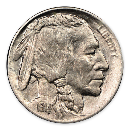 Buffalo Nickel (1913-1938) - AU