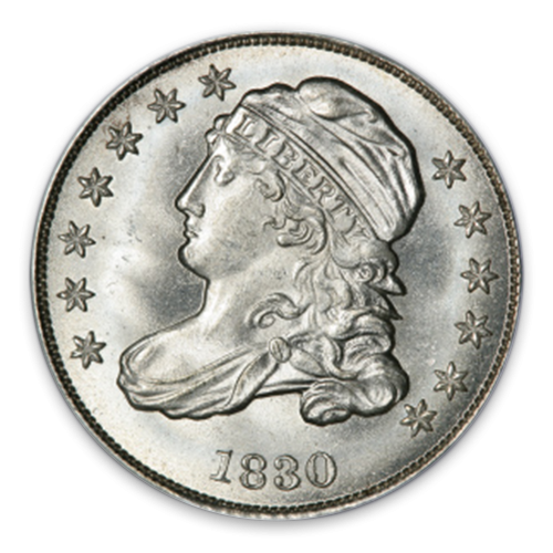 Capped Bust Dime (1809 - 1837) - MS+