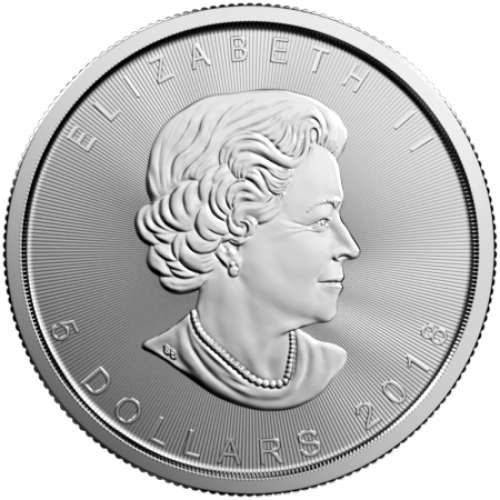 2018 1oz Canadian Silver Maple Leaf