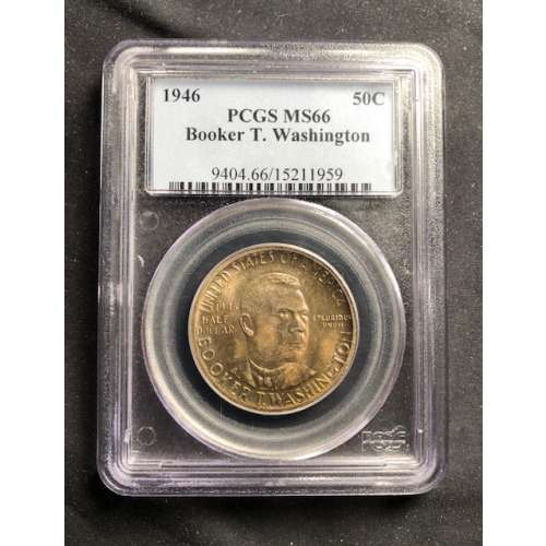 1946 Booker T. Washington    PCGS MS-66