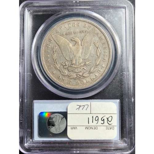 1888-O Doubled Die Obv    PCGS VF-25