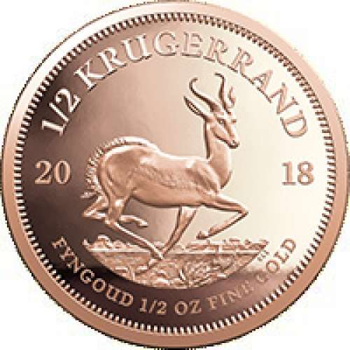Any Year 1/2oz South African Gold Krugerrand