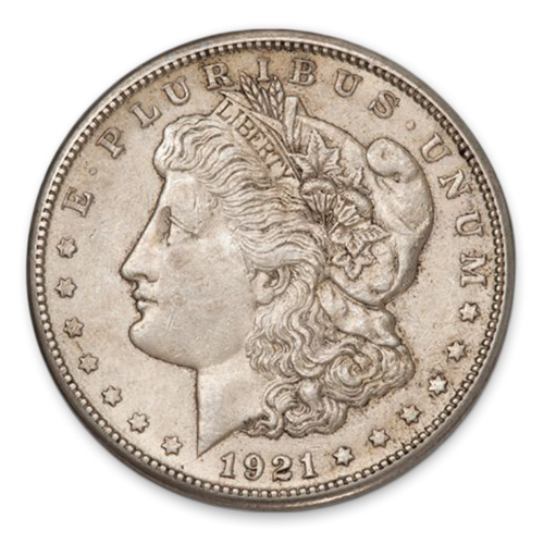 Morgan Dollar (1921) - AU