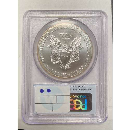 2014 Silver Eagle  First Strike  PCGS MS-70