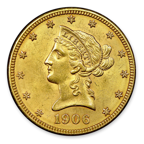 Liberty Head $10 (1838 - 1907) - MS+