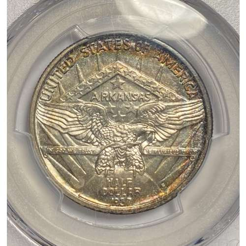 1937-S Arkansas    PCGS MS-64